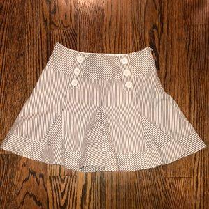 Girls pinstriped skirt